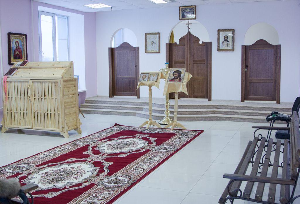 ВКрасноярском коммерческом проспекте «МЕГА» возникла домовая церковь