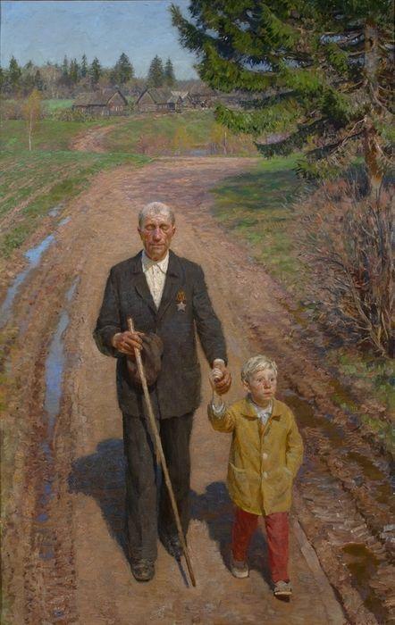 дедушка и внук на рыбалке рассказ